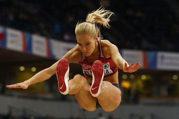 Darya Klishina 2017 European Athletics Indoor Championships - Day Two