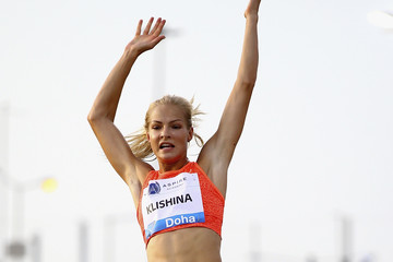 Darya Klishina Doha - IAAF Diamond League 2015