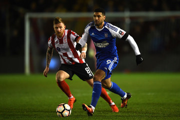 Daryl Murphy Lincoln City v Ipswich Town - The Emirates FA Cup Third Round Replay