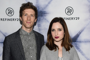 Daryl Wein Zoe Lister Jones Refinery29 Los Angeles Holiday Party Hosted By R29 Editor-At-Large Drew Barrymore At The Sunset Tower Hotel