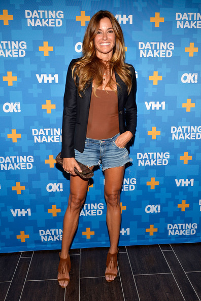 TV personality Clare Galterio attends the 'Dating Naked' series ...