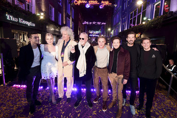 Dave Berry Carnaby Street Bohemian Rhapsody Light Installation Switch On