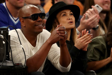 Dave Chappelle Golden State Warriors v New York Knicks