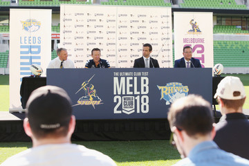 Dave Donaghy Melbourne Storm Media Announcement