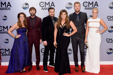 Dave Haywood Cassie McConnell Arrivals at the 48th Annual CMA Awards
