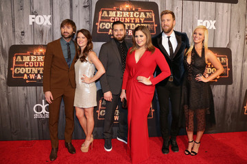 Dave Haywood Kelli Cashiola Arrivals at the American Country Countdown Awards