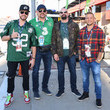 Dave Osokow Celebrities At The Monster Energy NASCAR Cup Series Race At Auto Club Speedway