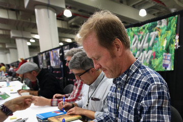 Dave Willis Cartoon Network & Adult Swim at NY Comic Con 2016
