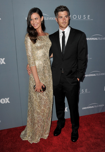 Odette Annable and husband
