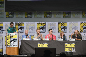 David Alpert Dave Erickson Comic-Con International 2017 - AMC's 'The Walking Dead' Panel