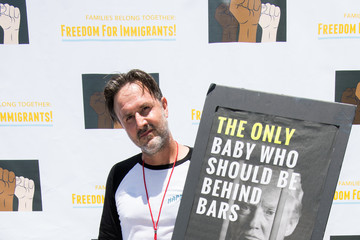David Arquette Families Belong Together - Freedom For Immigrants March Los Angeles