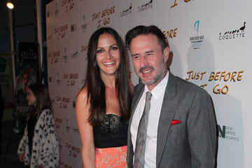 David Arquette Christina McLarty Screening of 'Just Before I Go' - Red Carpet