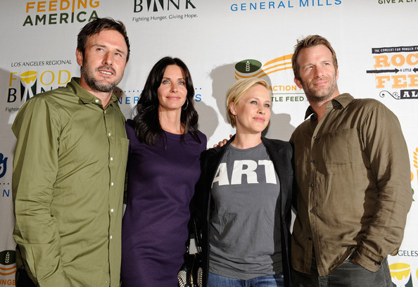 Patricia Arquette and David Arquette - Rock A Little, Feed Alot Benefit ...