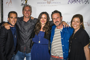 David Arquette Aspen Peak Magazine's 10th Anniversary With Woody Creek Distillers At Bootsy Bellows Hosted By David Arquette