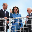David Attenborough The Duke And Duchess Of Cambridge Attend The Naming Ceremony
