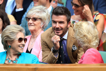 David Beckham Day Ten: The Championships - Wimbledon 2019