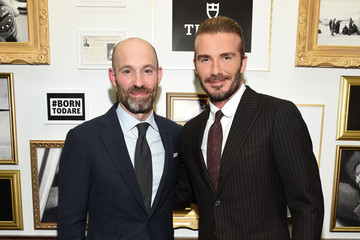 David Beckham Swiss Watch Brand, TUDOR, Celebrates New Ambassador David Beckham At The Clocktower In New York City