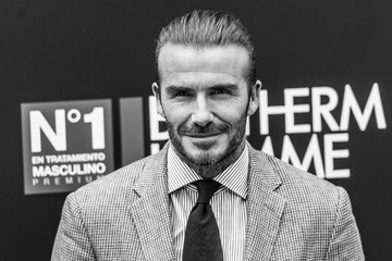 David Beckham David Beckham Is Biotherm Homme New Ambassador