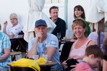 David Cameron Prime Minister David Cameron Holidays In Lanzarote