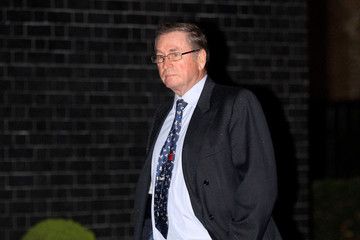 Lord Ashcroft David Cameron Hosts A Party For Lady Thatcher's 85th Birthday At Downing Street