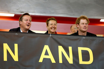David Cameron Invictus Games - Day Two - Wheelchair Rugby