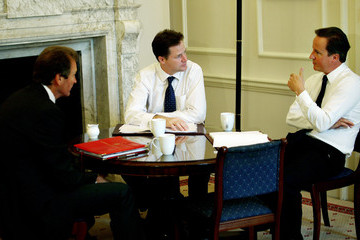 Gus O'Donnell David Cameron And Nick Clegg Hold First Cabinet Meeting After Summer Break