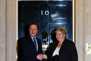 David Cameron David Cameron Meets with the Prime Minister of Norway