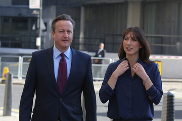 David Cameron David Cameron Casts His Vote in the London Mayoral Election