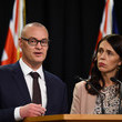 David Clark Prime Minister Jacinda Ardern Holds Press Conference To Announce Nurses Pay Settlement