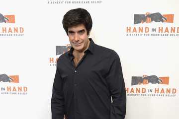 David Copperfield Hand in Hand: A Benefit for Hurricane Relief - New York - Press Room