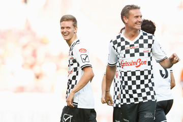David Coulthard 'Champions for Charity' Football Match in Mainz