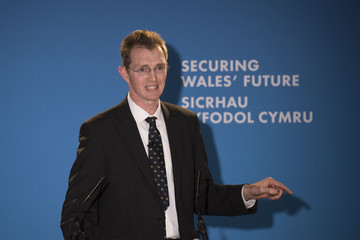 David Davies Welsh Conservatives Hold Spring Party Conference