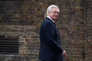 David Davis The Minister For Brexit And The Attorney General Leave Downing Street