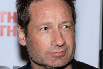 David Duchovny 'The Library' Opening Night Celebration