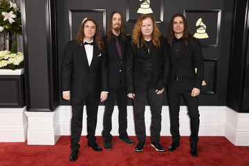 David Ellefson The 59th GRAMMY Awards - Arrivals