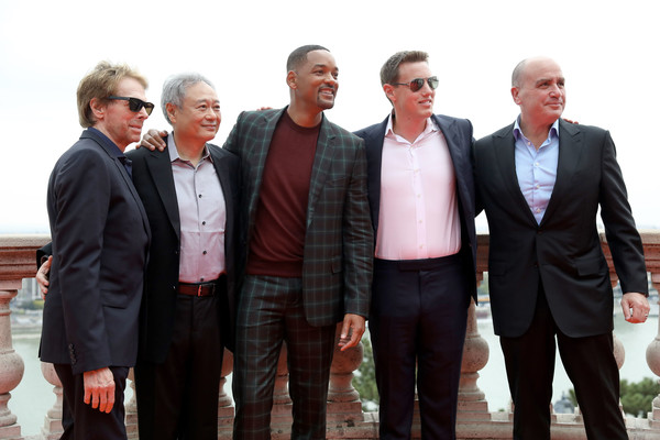 Paramount Pictures, Skydance, And Jerry Bruckheimer Films 'Gemini Man' Budapest Red Carpet