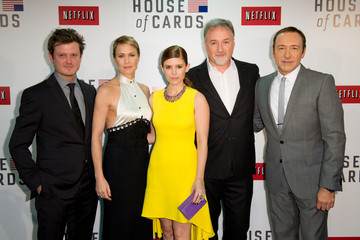 David Fincher Netflix House of Cards Red Carpet Premiere