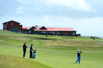 David Frost The Senior Open Championship - Day One