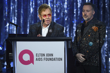David Furnish 25th Annual Elton John AIDS Foundation's Oscar Viewing Party - Inside