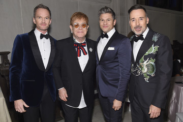 David Furnish Neil Patrick Harris Elton John AIDS Foundation Commemorates Its 25th Year and Honors Founder Sir Elton John During New York Fall Gala - Inside