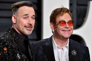 David Furnish 2017 Vanity Fair Oscar Party Hosted By Graydon Carter - Arrivals