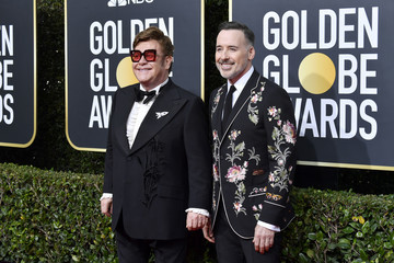 David Furnish 77th Annual Golden Globe Awards - Arrivals
