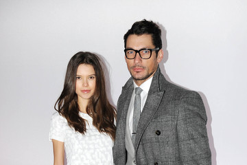 David Gandy Sarah Ann Macklin J.W. Anderson: Front Row - London Collections: MEN AW13