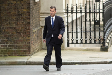 David Gauke Prime Minister Theresa May Appoints Her Cabinet