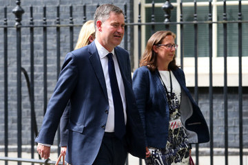 David Gauke Theresa May's Re-Shuffled Cabinet Meets for the First Time