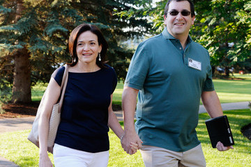 David Goldberg Business Leaders Meet in Sun Valley for Conference