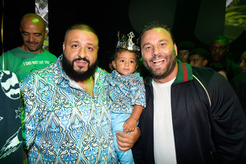 David Grutman Tot Living by Haute Living Celebrates Asahd's First Birthday With Cybex