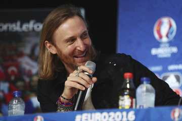 David Guetta EURO 2016 Kick Off Press Conference