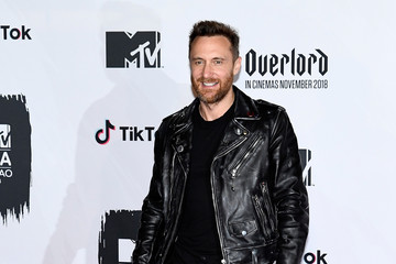 David Guetta MTV EMAs 2018 - Winners Room