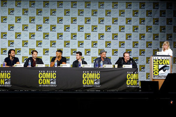 David Harbour Richard Rankin Entertainment Weekly's 'Brave New Warriors' Panel at San Diego Comic Con 2017
